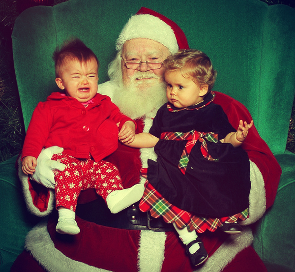 Santa-and-crying-child